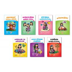3. Sınıf Hikaye Kitabı 7 Kitap Elif İle Sosyal Bilgiler Konularına Yolculuk Gizemli Bahçe