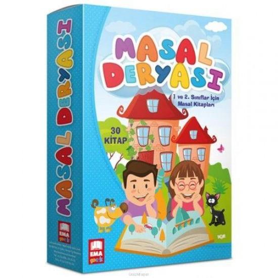 EMA Çocuk Masal Deryası Hikaye Seti 30 Kitap