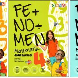 Fenomen 4. Sınıf Matematik+Fen+Türkçe Soru Bankası Seti 3 Kitap