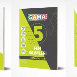 Gama 5. Sınıf Fen Bilimleri Soru Deneme Tekrar 3'lü Set