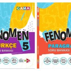 Gama 5. Sınıf Fenomen Türkçe + Paragraf Soru Bankası Seti 2 Kitap