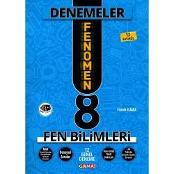 GAMA 8. SINIF LGS FENOMEN FEN YENİ NESİL 12 GENEL DENEME