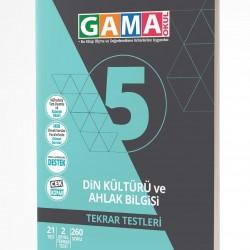 Gama Yayınları 5. Sınıf Din Kültürü Tekrar Testleri