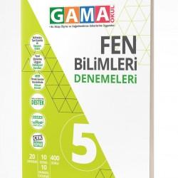 Gama Yayınları 5. Sınıf Fen Bilimleri Denemeleri