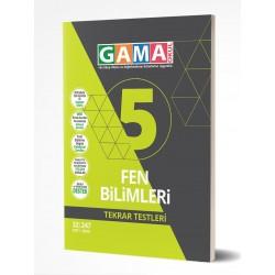 Gama Yayınları 5. Sınıf Fen Bilimleri Tekrar Testleri