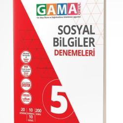 Gama Yayınları 5. Sınıf Sosyal Bilgiler Denemeleri