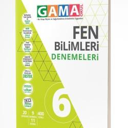 Gama Yayınları 6. Sınıf Fen Bilimleri Denemeleri