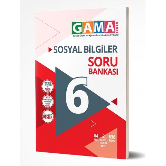 Gama Yayınları 6. Sınıf Sosyal Bilgiler Soru Bankası