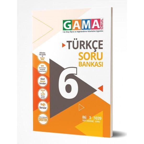 Gama Yayınları 6. Sınıf Türkçe Soru Bankası