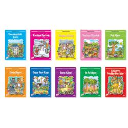 1. Sınıf Hikaye Kitabı 10 Kiyap Okumayı Seviyorum Dizisi Gizemli Bahçe