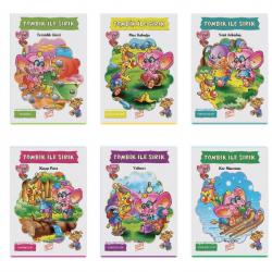 1. Sınıf Hikaye Kitabı 10 Kitap Tombik İle Sırık Gizemli Bahçe