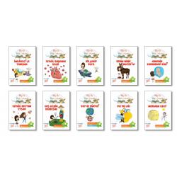 3. Sınıf Hikaye Kitabı 10 Kitap Bilge ile Fen'e Yolculuk Gizemli Bahçe