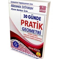 Gür Yayınları 30 Günde Pratik Geometri 3. Kitap Konu Anlatımlı
