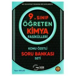 Gür Yayınları 9. Sınıf Öğreten Kimya Fasikülleri Konu Özetli Soru Bankası Seti
