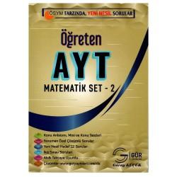 Gür Yayınları Öğreten AYT Matematik Seti - 2
