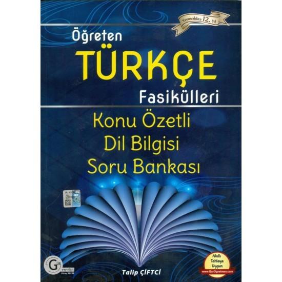 Gür Yayınları Öğreten Türkçe Fasikülleri Konu Özetli Dil Bilgisi Soru Bankası