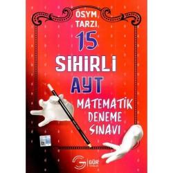 Gür Yayınları AYT Matematik Deneme 15 Adet