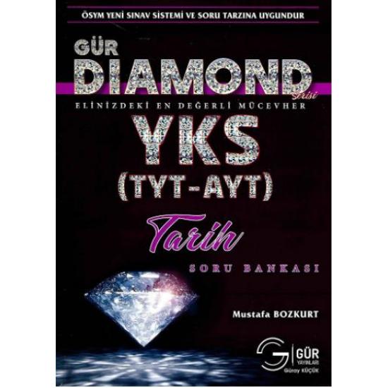 Gür Yayınları Diamond Serisi TYT-AYT Tarih Soru Bankası