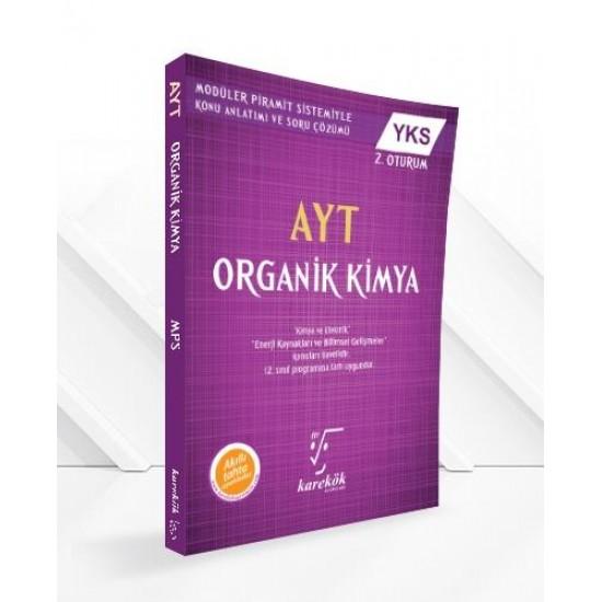 Karekök Yayınları AYT Organik Kimya MPS