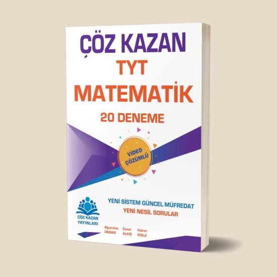 Çöz Kazan Yayınları 20li TYT Matematik Denemesi