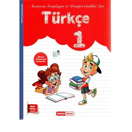 Kırmızı Beyaz 1. Sınıf Türkçe Kitabı