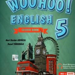 Kırmızı Beyaz 5. Sınıf Woo Hoo English İngilizce Set (3 Kitap Takım)