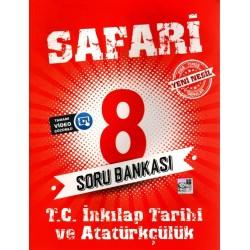 Kırmızı Beyaz 8. Sınıf Safari İnkılap Tarihi Soru Bankası