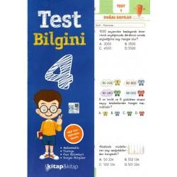 Kitap & Kitap Yayınları 4. Sınıf Test Bilgini Tüm Dersler Yaprak Test