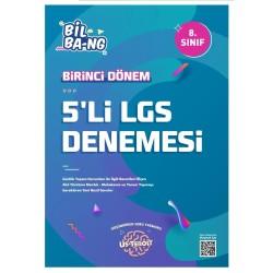 Kültür Yayıncılık 8. Sınıf Us Teroit 1. Dönem 5 li LGS Denemesi