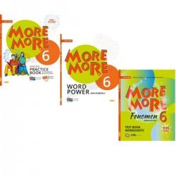 Kurmay ELT More 6. Sınıf Fenomen Test + Word Power + Practice Book Seti 3 Kitap 2021