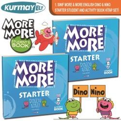 Kurmay More 1. Sınıf English Starter Dino Nino Students Activity Book