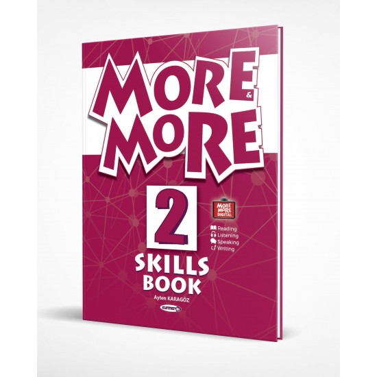 Kurmay ELT More And More Skills Book 2