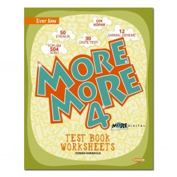 Kurmay ELT More And More 4. Sınıf English Worksheets Test Book 2021