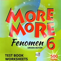 Kurmay ELT More And More 6. Sınıf English Fenomen Test Book 2021