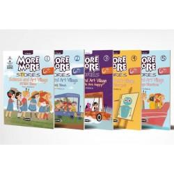 Kurmay More More Stories 6. Sınıf İngilizce Hikaye Seti 5 Kitap
