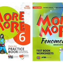Kurmay Elt More More 6. Sınıf English Practice Book + Fenomen Seti 2 Kitap 2021