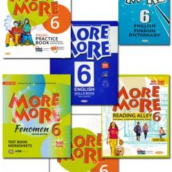 Kurmay ELT More More 6. Sınıf İngilizce Seti 5 Kitap 2020 2021