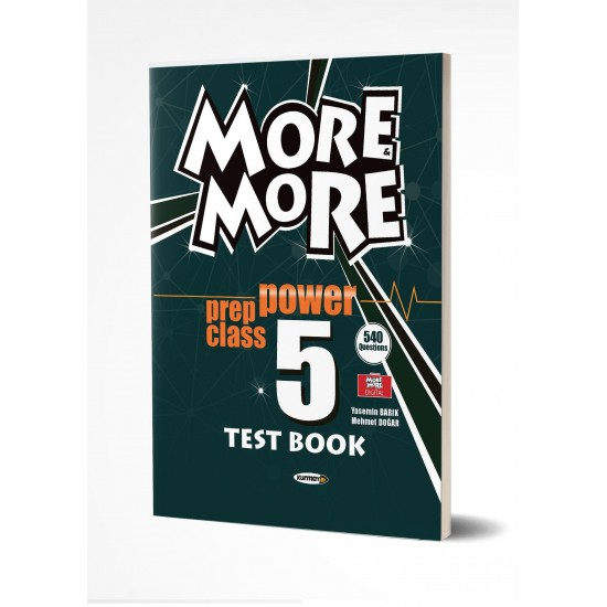 Kurmay ELT More And More Power Prep Class 5 Test Book