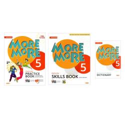 KURMAY MORE MORE 5. SINIF ENGLİSH PRACTİCE BOOK + SKİLLS BOOK + DİCTİONARY 2021