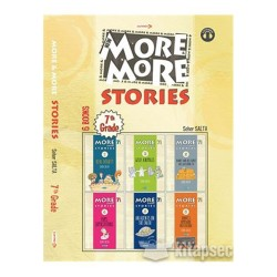 Kurmay ELT More And More Stories Grade-7 6 Books