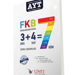 Limit AYT Fizik Kimya Biyoloji 7 Gün Soru Bankası