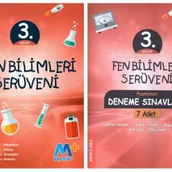 Martı Yayınları 3. Sınıf Fen Bilimleri Serüveni + 7' li Deneme