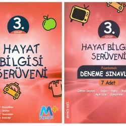 Martı Yayınları 3. Sınıf Hayat Bilgisi Serüveni + 7' li Deneme