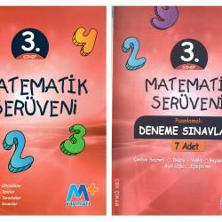 Martı Yayınları 3. Sınıf Matematik Serüveni + 7' li Deneme