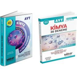 Miray AYT Kimya Soru Bankası + 30 Kimya Deneme Seti 2 Kitap