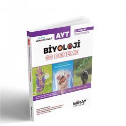 Miray Yayınları AYT Biyoloji Konu Özetli 30 Deneme