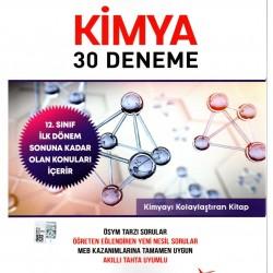Miray Yayınları AYT Kimya Denemeleri 1. Dönem Konu Özetli 30 Adet