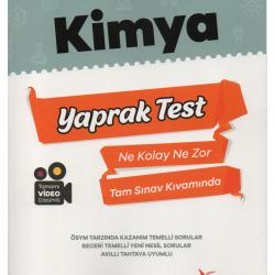 Miray Yayınları AYT Kimya Yaprak Test