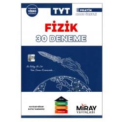 Miray Yayınları TYT Fizik 30 Deneme Pratik Konu Özetli
