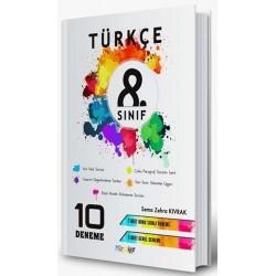 Mürekkep Yayıncılık 8. Sınıf Türkçe Deneme 10 Adet